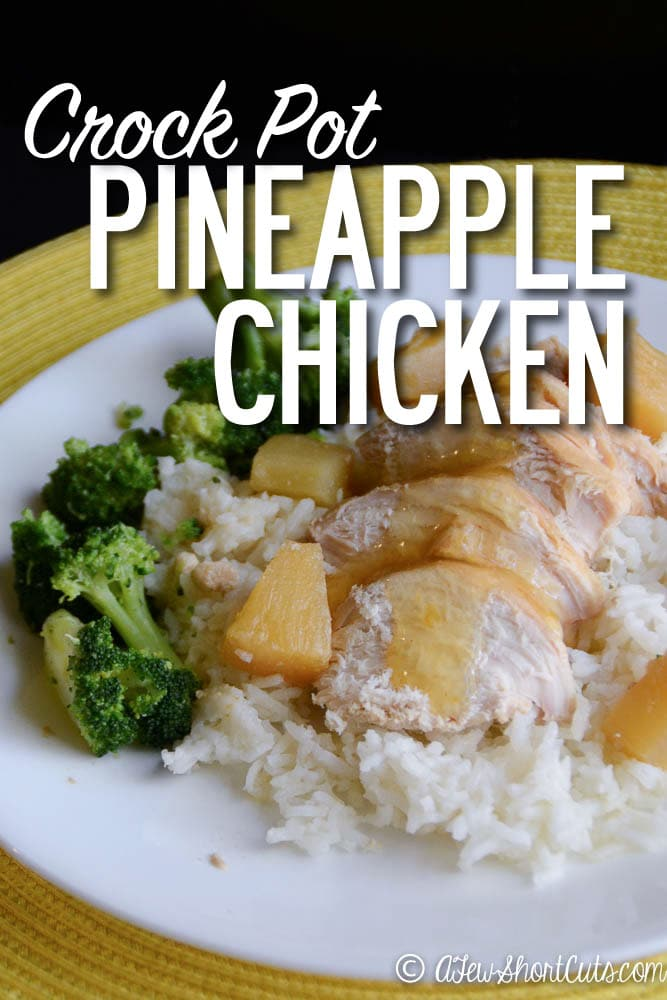 Crockpot Pineapple Chicken — Moms with Crockpots