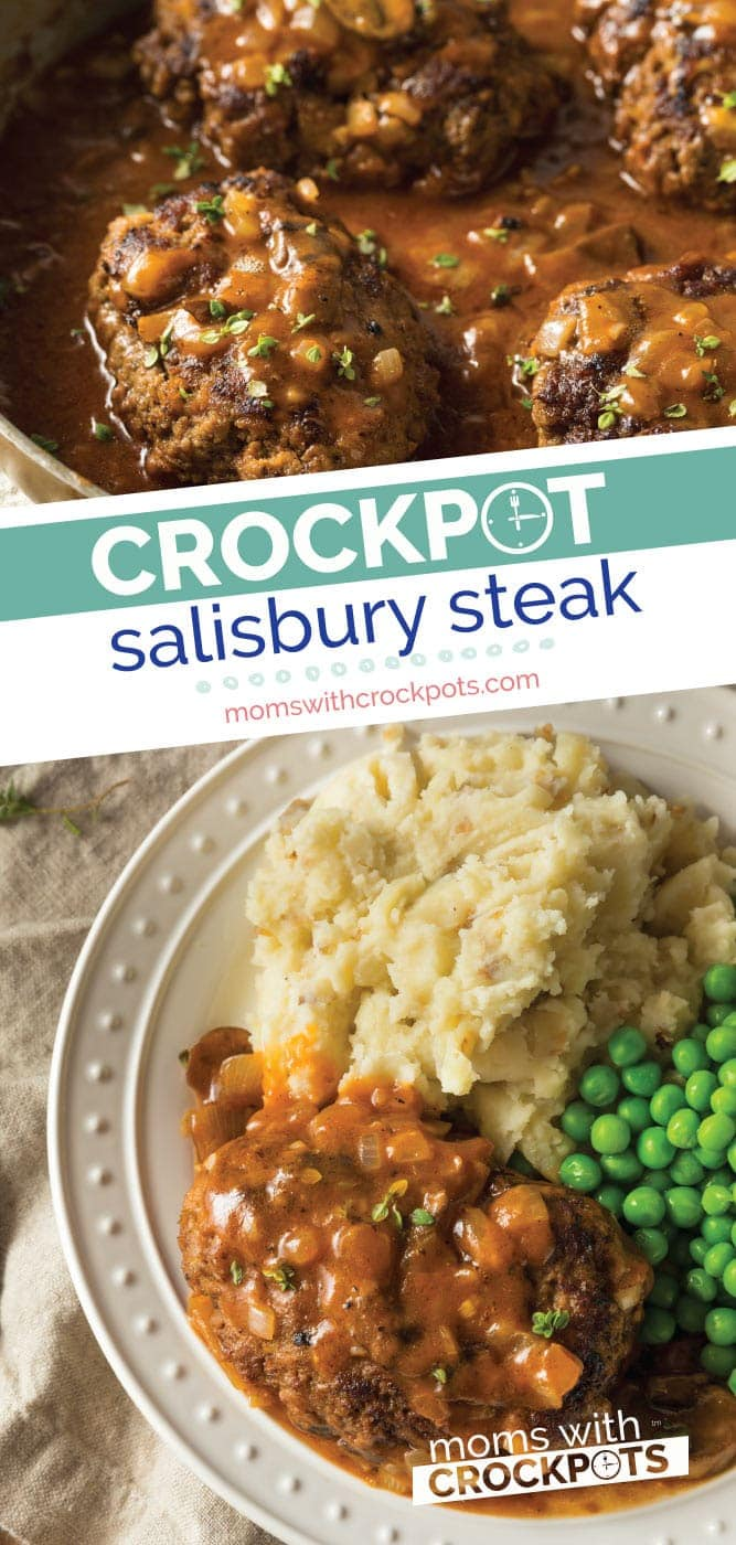 Crockpot Salisbury steak