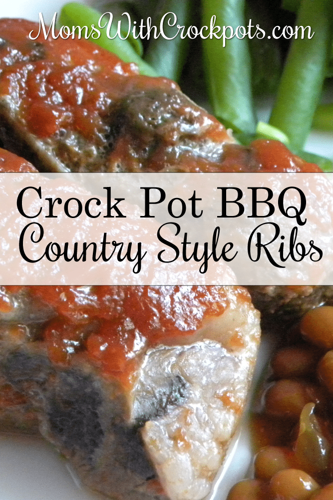 Crockpot Bbq Country Style Ribs Moms With Crockpots