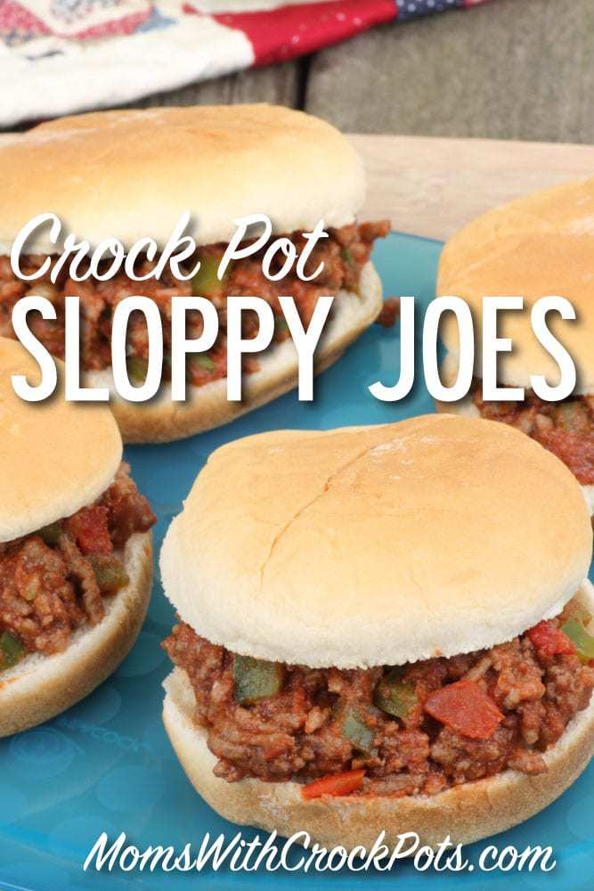 A great family friendly dinner! Check out this Crock Pot Sloppy Joes Recipe
