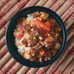 Bacon Beef Barley Soup Recipe