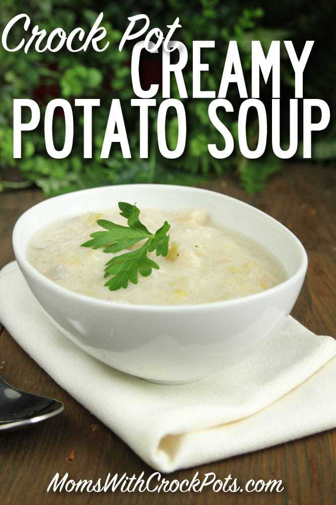 One bit of this and you will be in heaven. You have to try this Crock Pot Creamy Potato Soup Recipe
