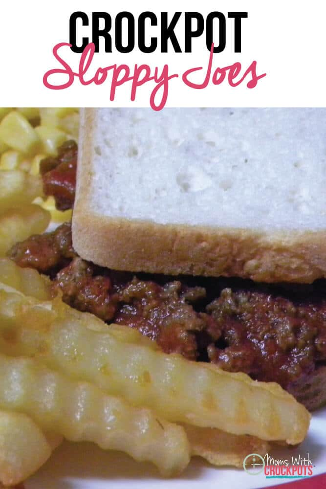 Super easy, super simple, Crockpot Sloppy Joes Recipe!