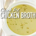Crockpot-chicken-broth