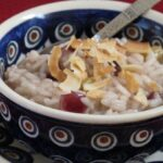apple cinnamon risotto