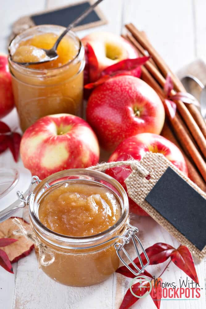 Have apples? Use them to make this Crockpot Apple Butter Recipe! Very easy to make and perfect for gift giving!