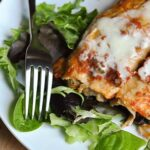 slow cooker black bean enchilladas