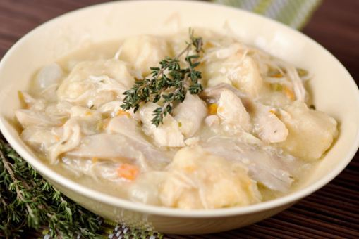 Slow Cooker Chicken and Dumplings — Moms with Crockpots