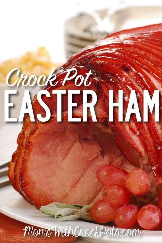 Spend you time with your family and not in the kitchen. Check out this amazing Crock Pot Easter Ham Recipe