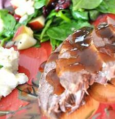 Slow Cooker Venison Apple Roast