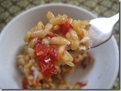 Tomato Risotto (Slow Cooker)