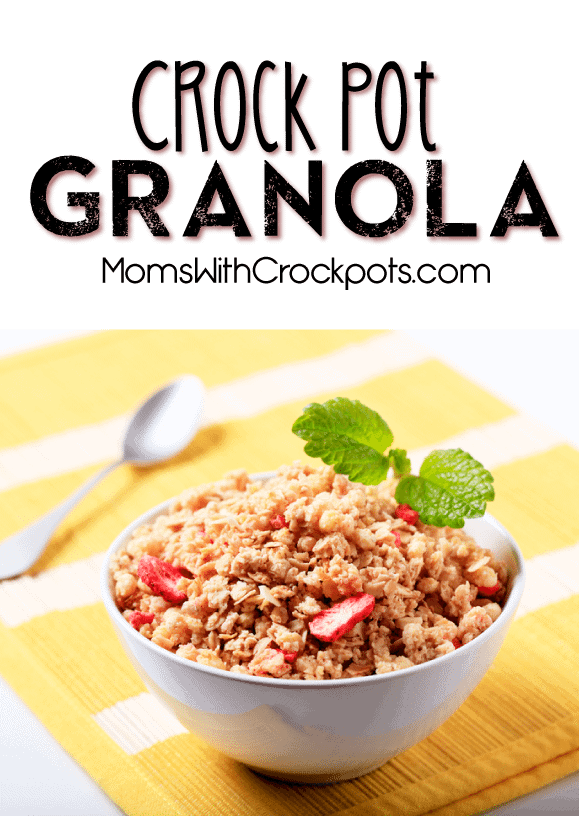 Crock Pot Granola Recipe