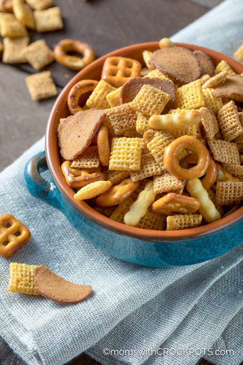 Slowcooker Chex Mix