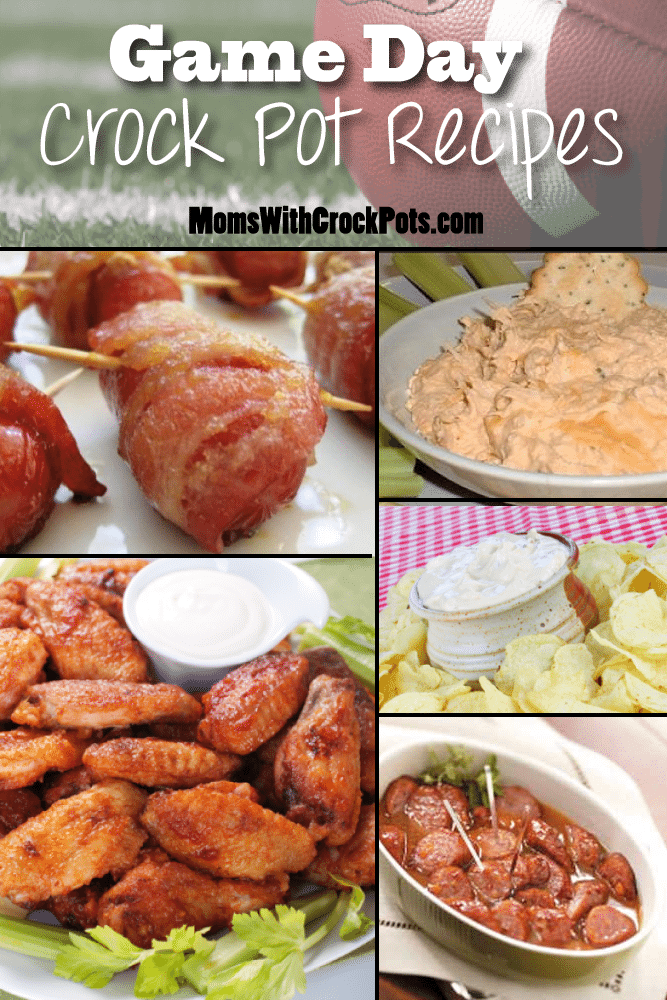 Try these easy and delicous Game Day Crock Pot Recipes!
