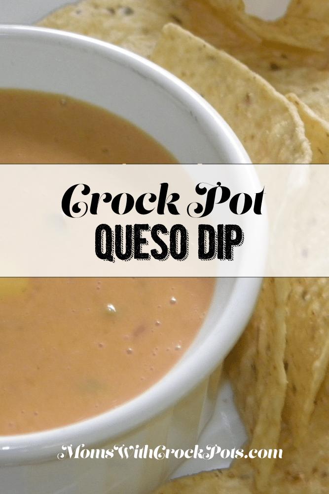 Crock Pot Queso Dip #Recipe