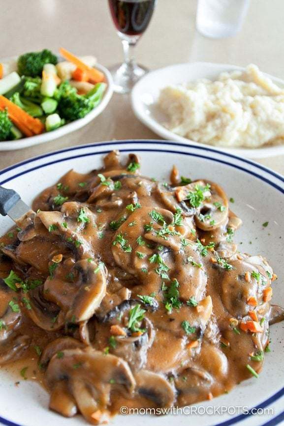 Crockpot Chicken Marsala Recipe Moms With Crockpots