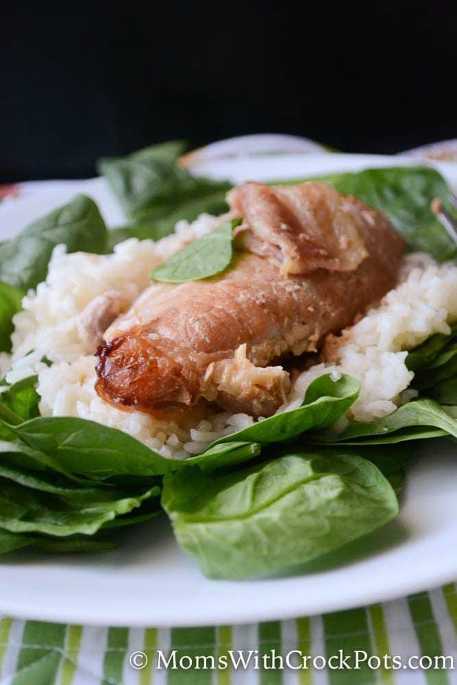 The best crock pot pork chops you will ever make! Try this Crock Pot Brown Sugar Pork Chops Recipe