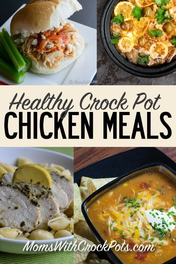 Healthy crock pot chicken meals moms with crockpots for Healthy crockpot recipes with chicken