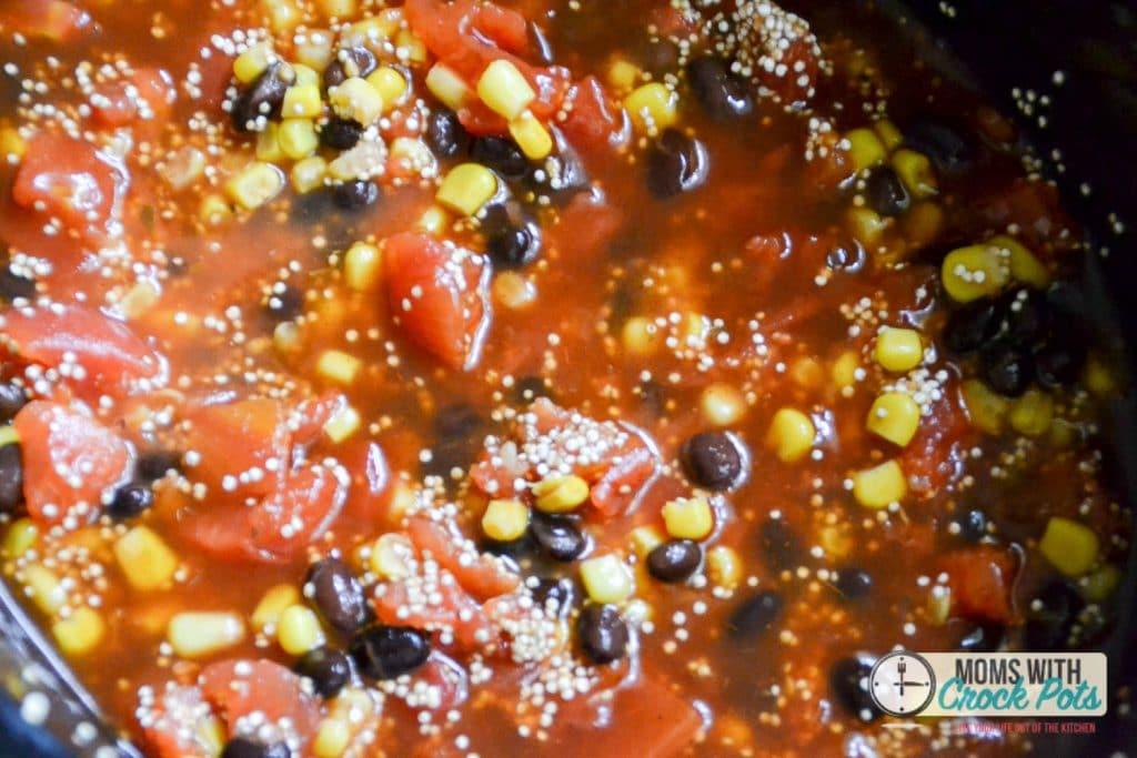Crockpot Enchilada Quinoa Recipe Moms With Crockpots