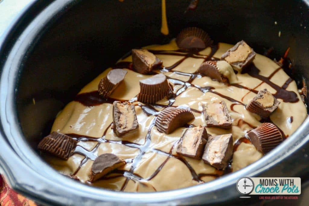 Crockpot Peanut Butter Cup Cake Moms With Crockpots