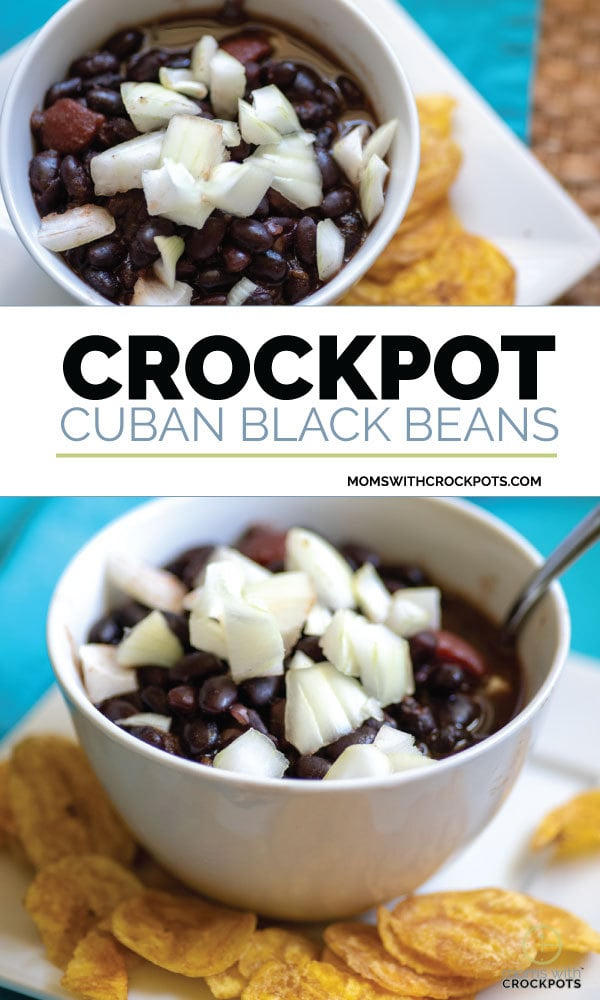 Crockpot Cuban Black Beans