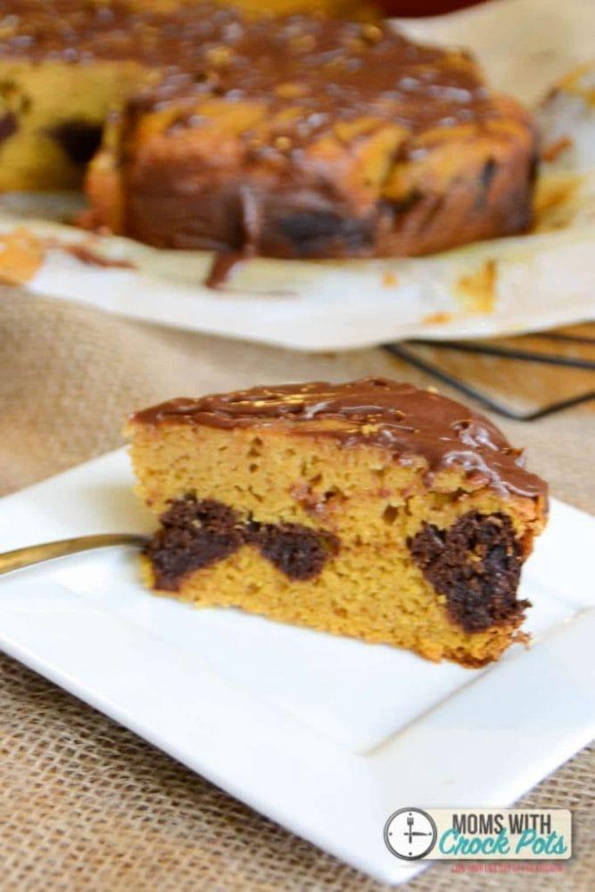Crock Pot Apple Cake Tasty