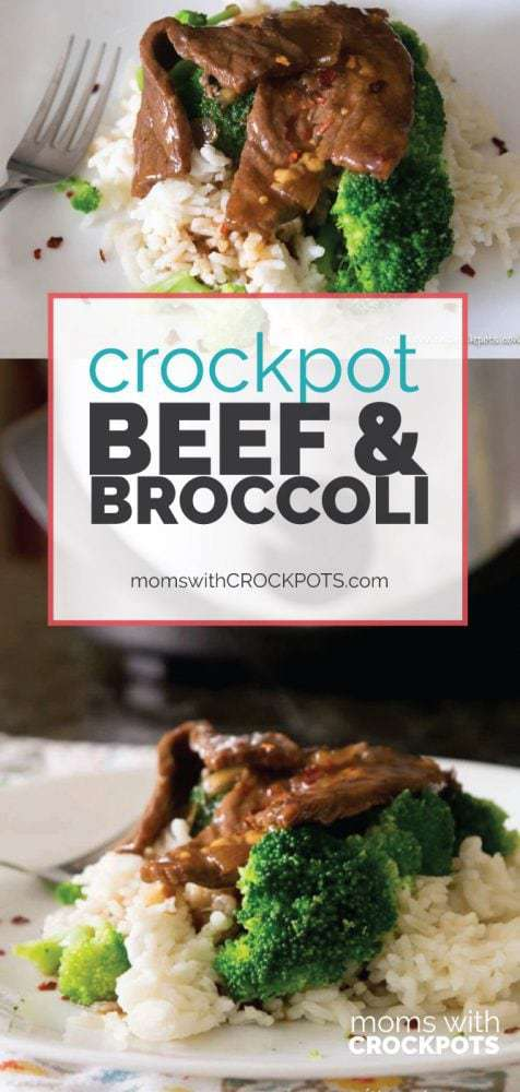 Simple to throw together, but oh so good. Everyone will want this Crockpot Beef and Broccoli Recipe! Better than take-out from your own slow cooker!