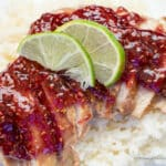 Crockpot Raspberry Chipotle Chicken-1-6