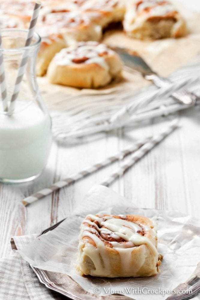 A birthday, A Holiday, or just because! This Crockpot Cinnamon Rolls Recipe is a must try! These homemade cinnamon rolls are simple and sinfully delicious!