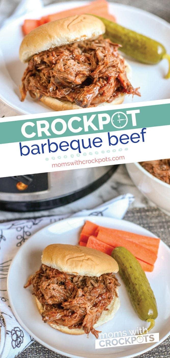Crockpot Barbeque Beef
